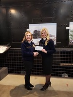 Big Win for Sophomore Chelsea Brisendine at State FFA Convention