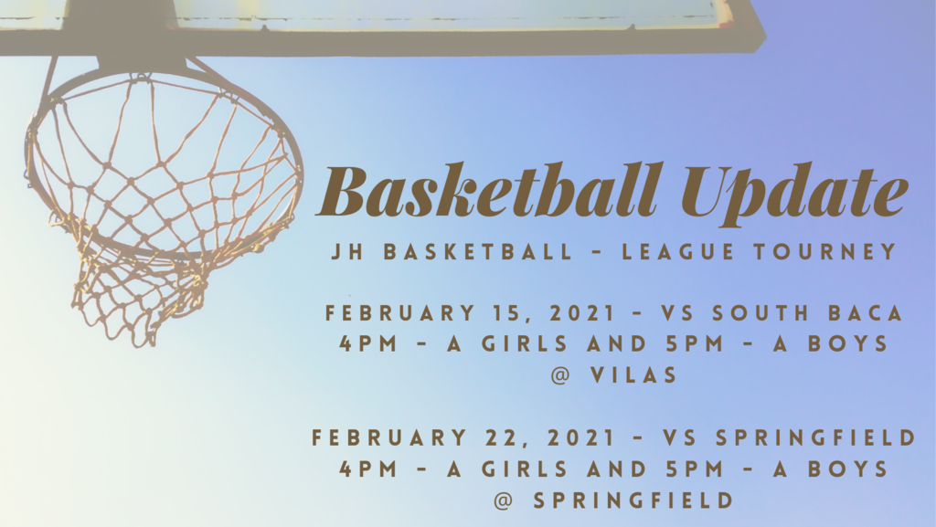 JH League Tournament Update