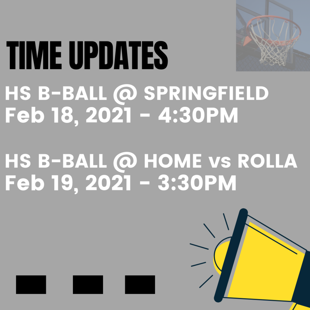 HS Basketball Updates - Springfield and Rolla