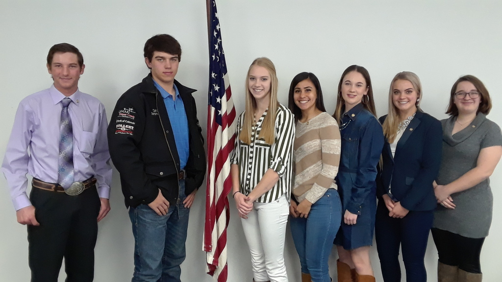 Daughters of American Revolution recognizing 7 area students as good citizens, one of them being Austin Cook from Walsh High School.
