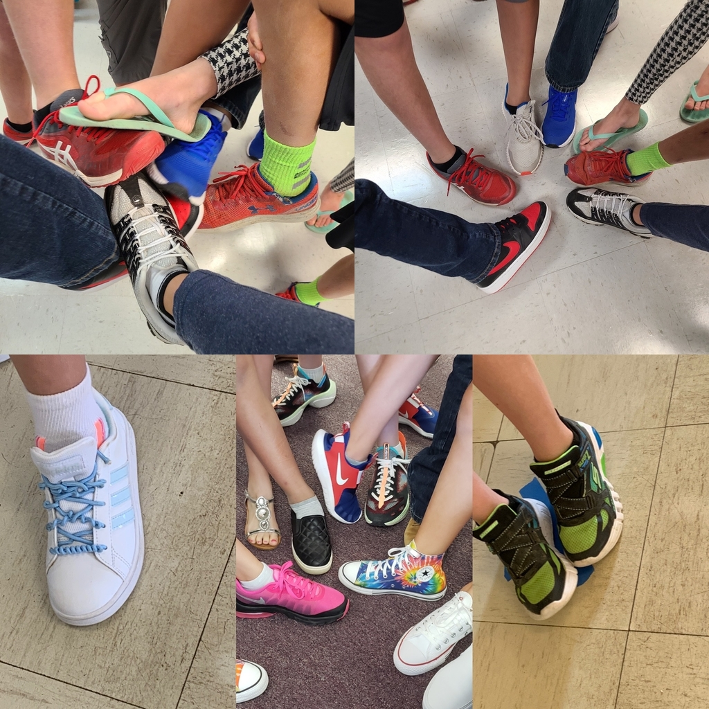 More shoes- more fun ! It was great to see teachers, students and friends today !
